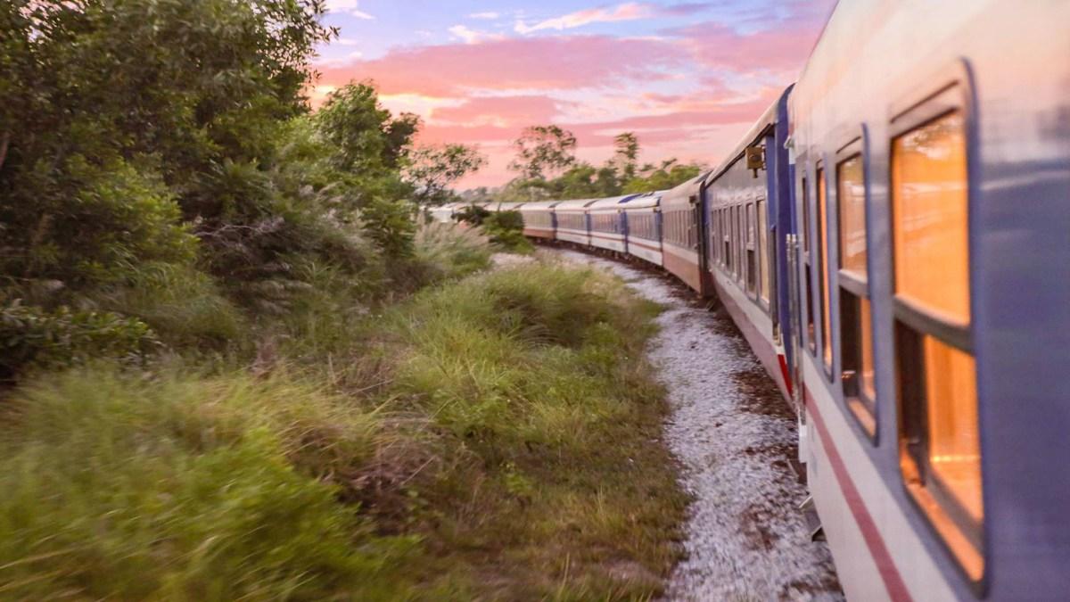 the vintage train