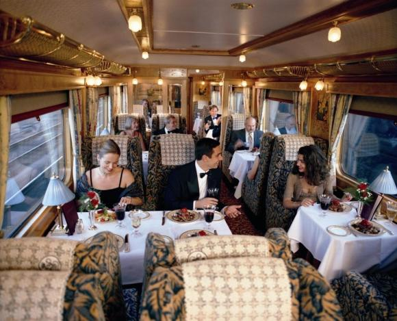 carriage on northern belle dining