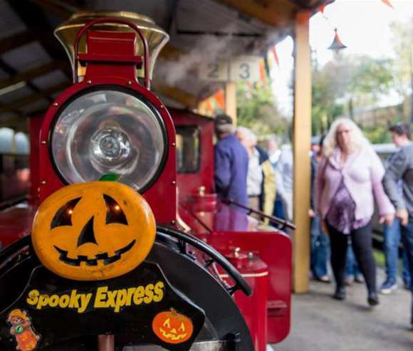 spooky express Bure Valley Railway