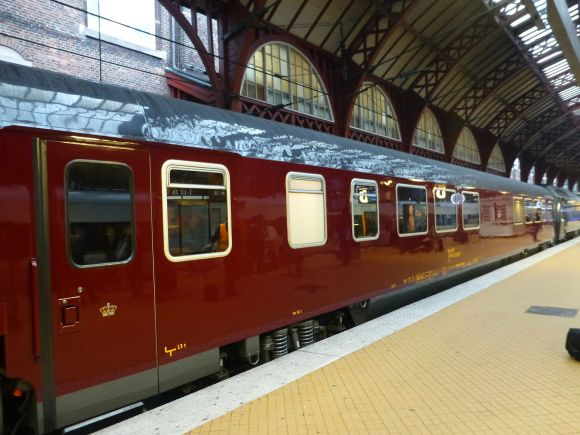 Royal train exterior