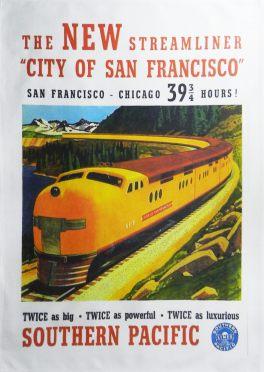christmas gifts San Fran poster
