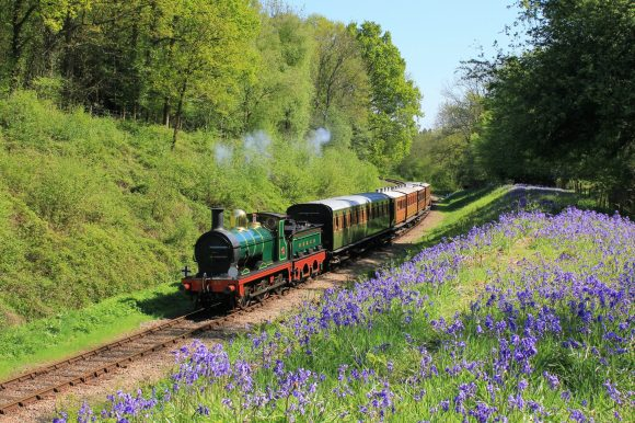 british steam trains bluebell line