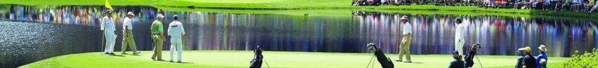golf multitud