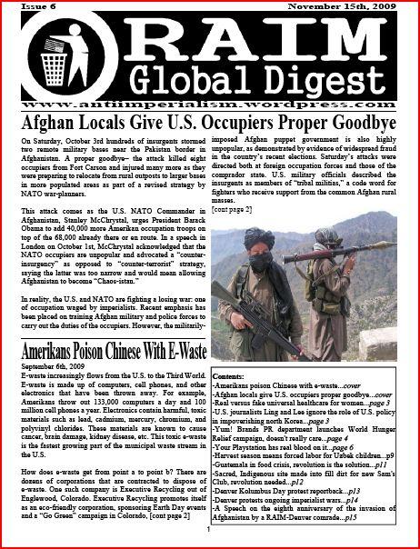RAIM Digest 6 cover