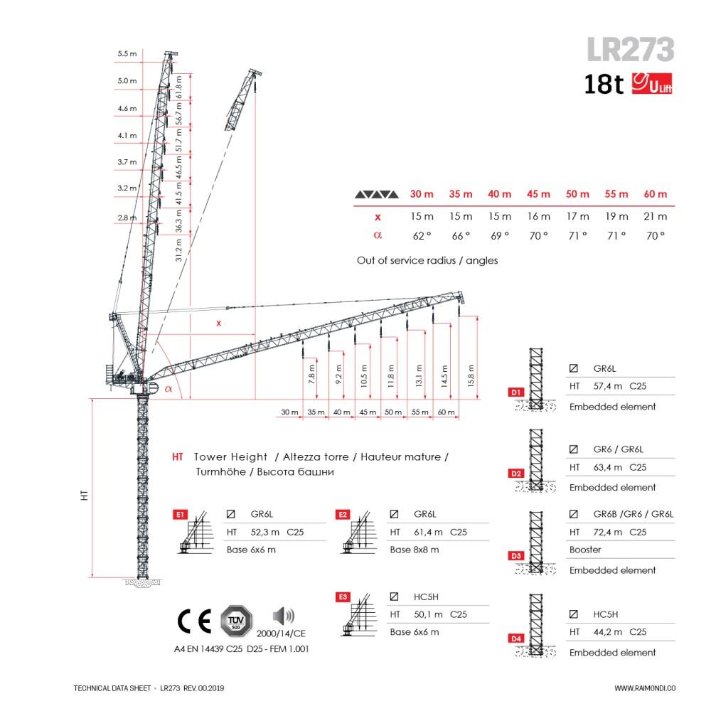 medium resolution of downloads raimondi lr273 luffing jib crane