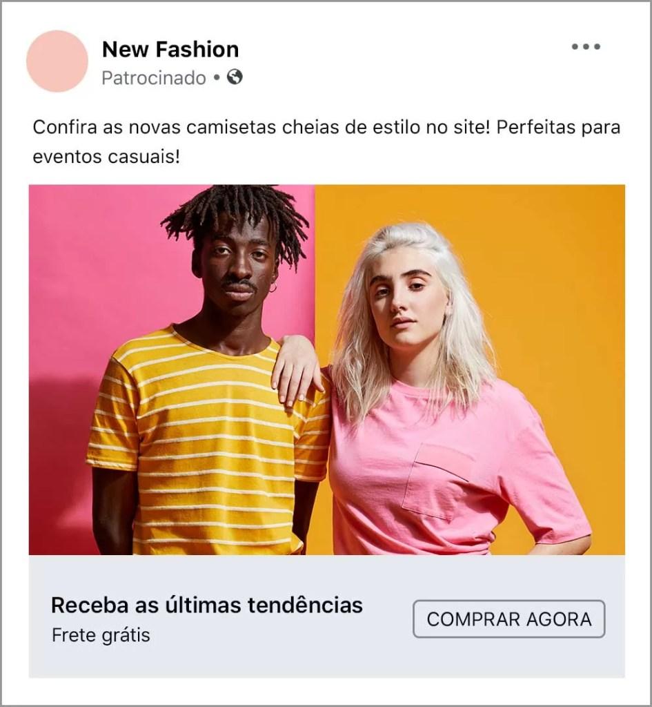 Escola de anúncios do Facebook Imagem Anuncio A