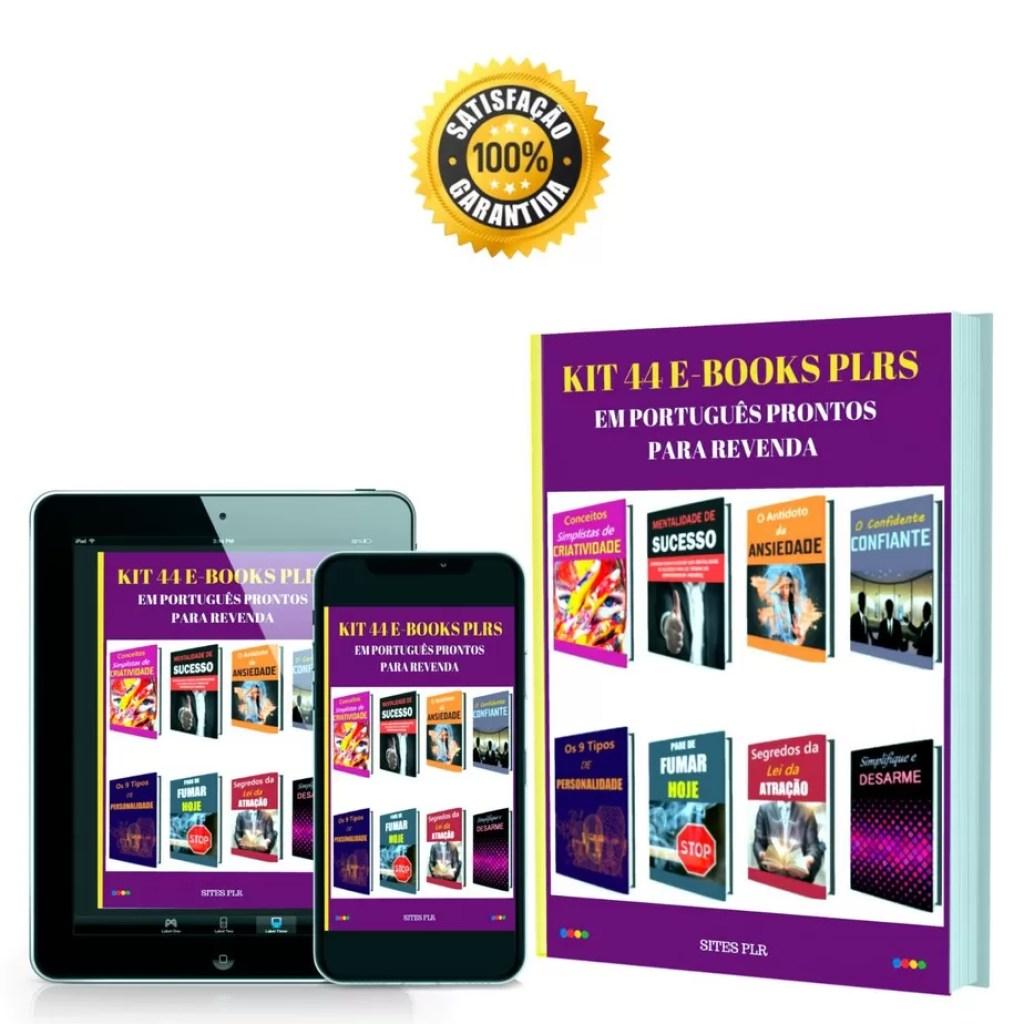 Kit-44-e-books-plrs-em-portugues-prontos-para-revenda | Como Posso Trabalhar com Ebooks PLR