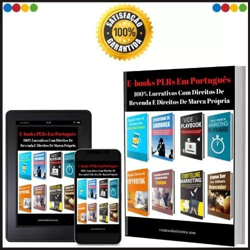 42 E-books Plrs Em Português Com Direitos De Revenda