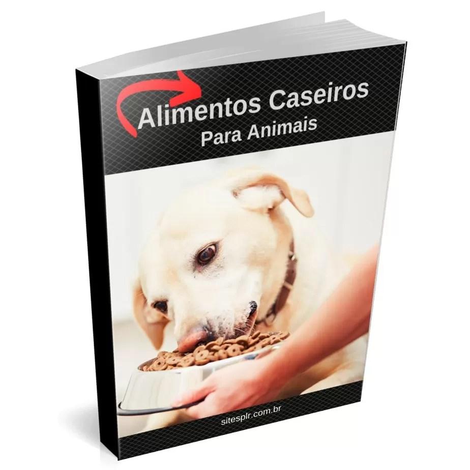 alimentos caseiros para animais