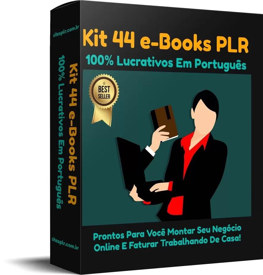 Kit 44 e-Books PLR 100% Lucrativos Em Português.png