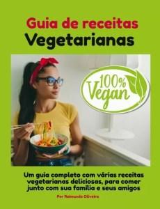 Guia de receitas vegetarianas -capas 2D