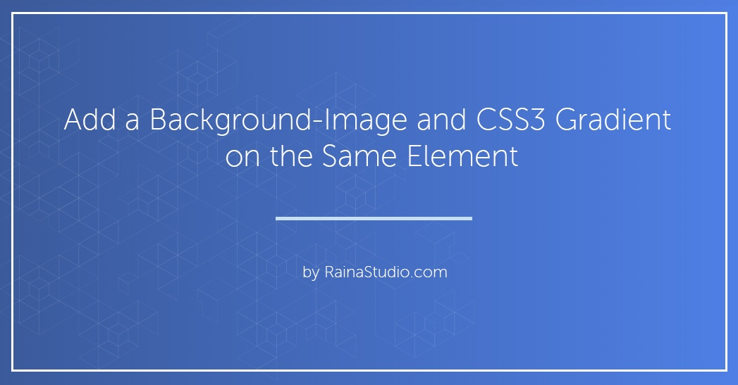 Combine a background image and css3 gradient on the same element malvernweather Gallery