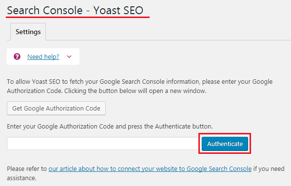 How to do WordPress SEO technically (OnPage Guide) Yoast SEO Search Console