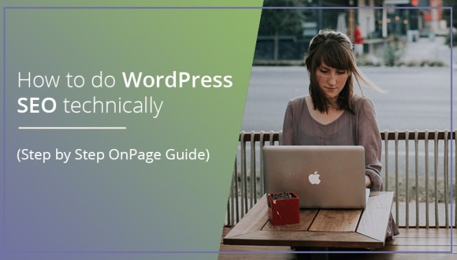 WordPress SEO technically