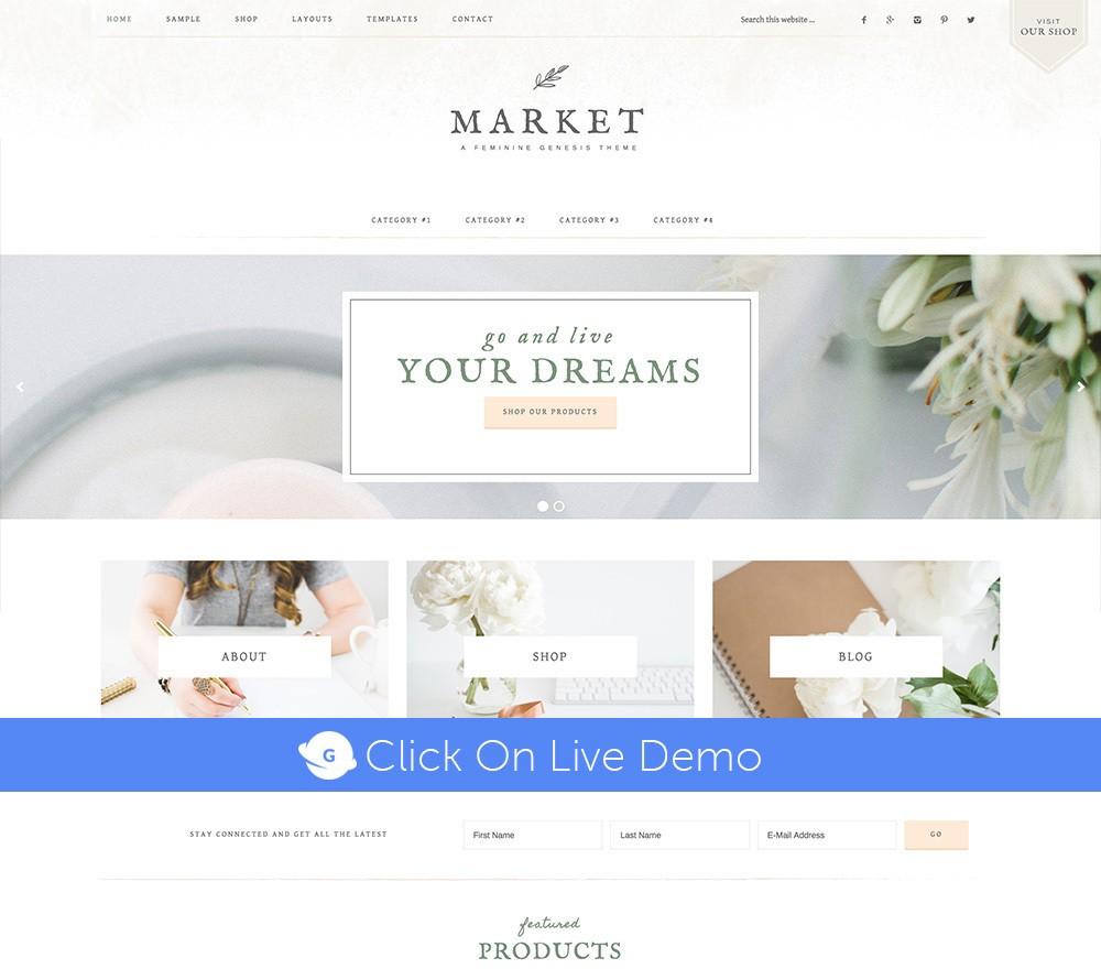 Market Pro Theme Review
