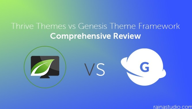 Thrive Themes vs Genesis Theme Framework: Comprehensive Review