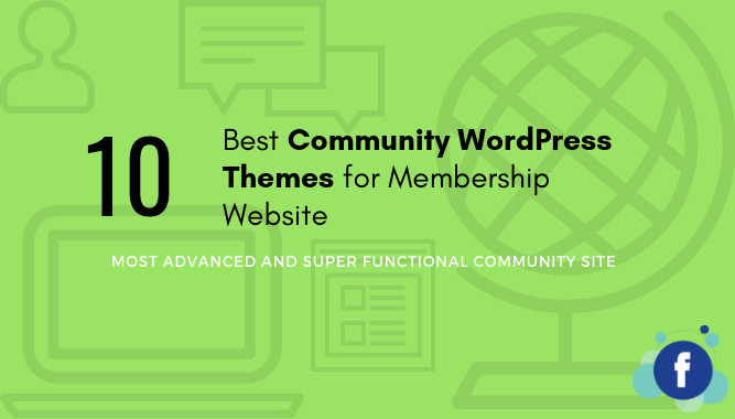 10 Best Community WordPress Themes for Membership Website