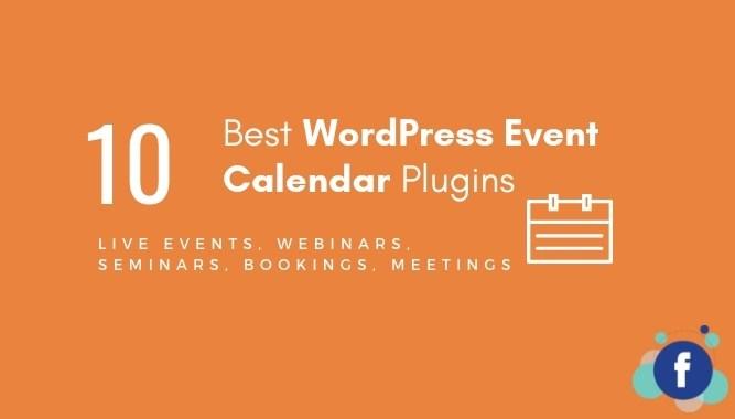 10 Best WordPress Event Calendar Plugins