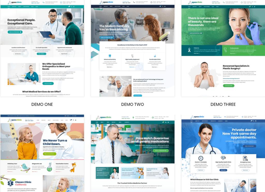 ApexClinic - Health & Medical WordPress Theme