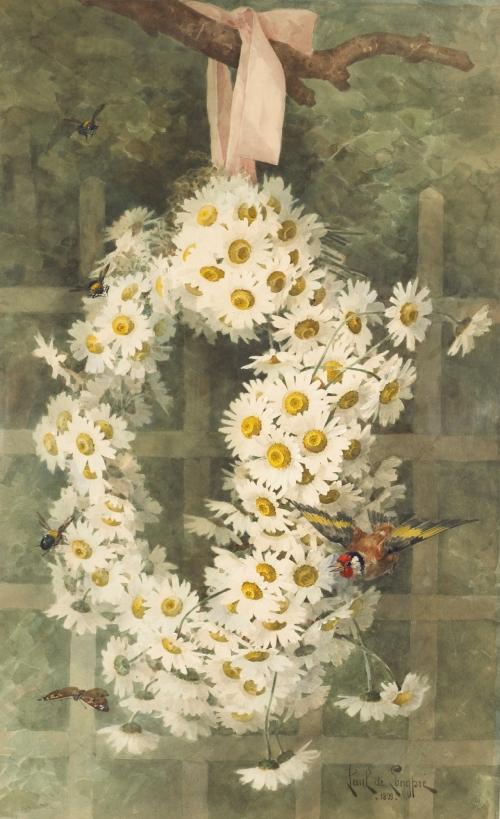 Художники Paul и Raoul de Longpre (114 работ)