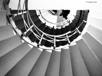 Spiral staircase, Berlin Germany