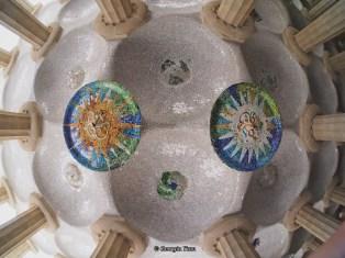 two mosaics fisheye