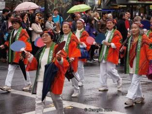 orange ladies parade