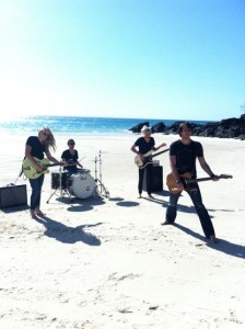 Morgan Evans - While We're Young - Video Shoot #03 - Rainbow Beach - @ 2012 (Small)