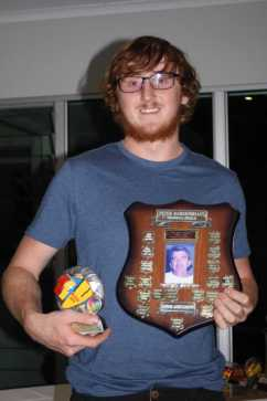 Described as a joy to have on patrol, one of the first to lend a hand and he throws himself into gaining as many qualifications as the club can offer, Zac Shroeder wins the Peter Bargenquast Award
