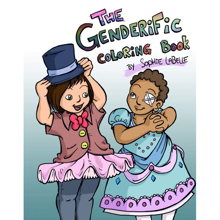 The Genderific Colouring Book Book Cover