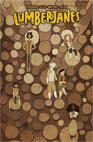Lumberjanes Vol. 4: Out Of Time Book Cover