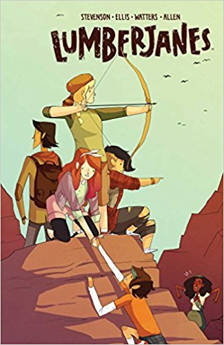 Lumberjanes Vol. 2: Friendship To The Max Book Cover