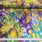 Batikk bomull paisly