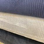 Cordfløyel brede striper