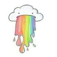 Eigentlich ist es ekelig, wenn jemand kotzen muss...aber bei der Wolke und der Regenbogenkotze ist es süß☁🌈 #wolke#weiß#Regenbogen#kotze#Regenbogenkotze Ach und: GUTEN RUTSCH INS NEUE JAHR!!! in den nächsten Tagen wird endlich mein Zimmer fertig, dann gibt ein Video (wie bei dem Beauty-Schrank) ☺