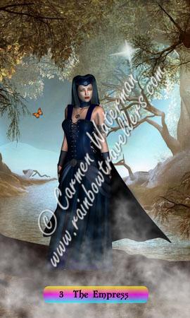 © 2015 Carmen Waterman - 3 The Empress