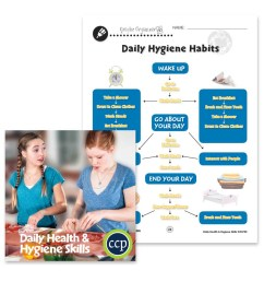 Daily Health \u0026 Hygiene Skills: Daily Hygiene Habits - WORKSHEET - Grades 6  to 12 - eBook - Worksheets - Classroom Complete Press [ 900 x 900 Pixel ]