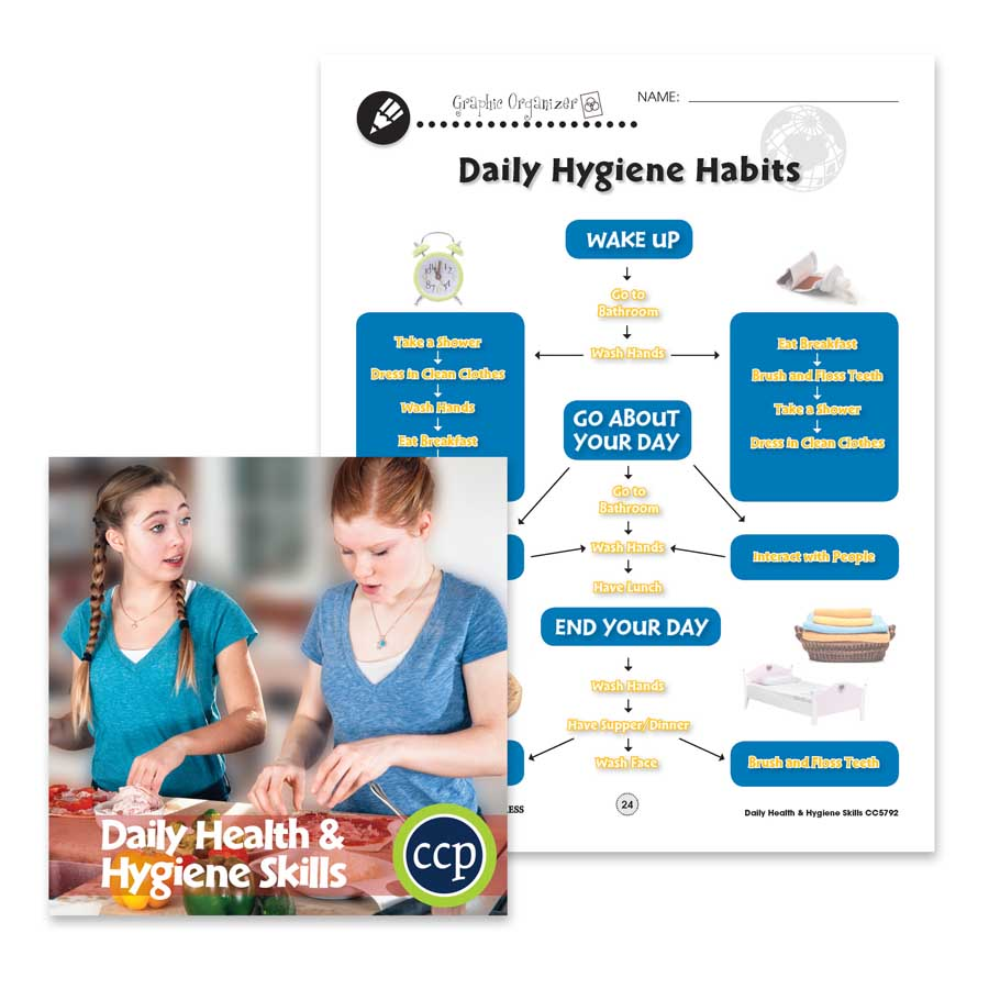 medium resolution of Daily Health \u0026 Hygiene Skills: Daily Hygiene Habits - WORKSHEET - Grades 6  to 12 - eBook - Worksheets - Classroom Complete Press