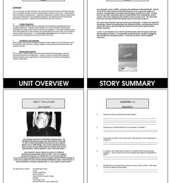 Loser (Novel Study) - Grades 4 to 7 - Print Book - Lesson Plan - Rainbow  Horizons [ 1165 x 900 Pixel ]