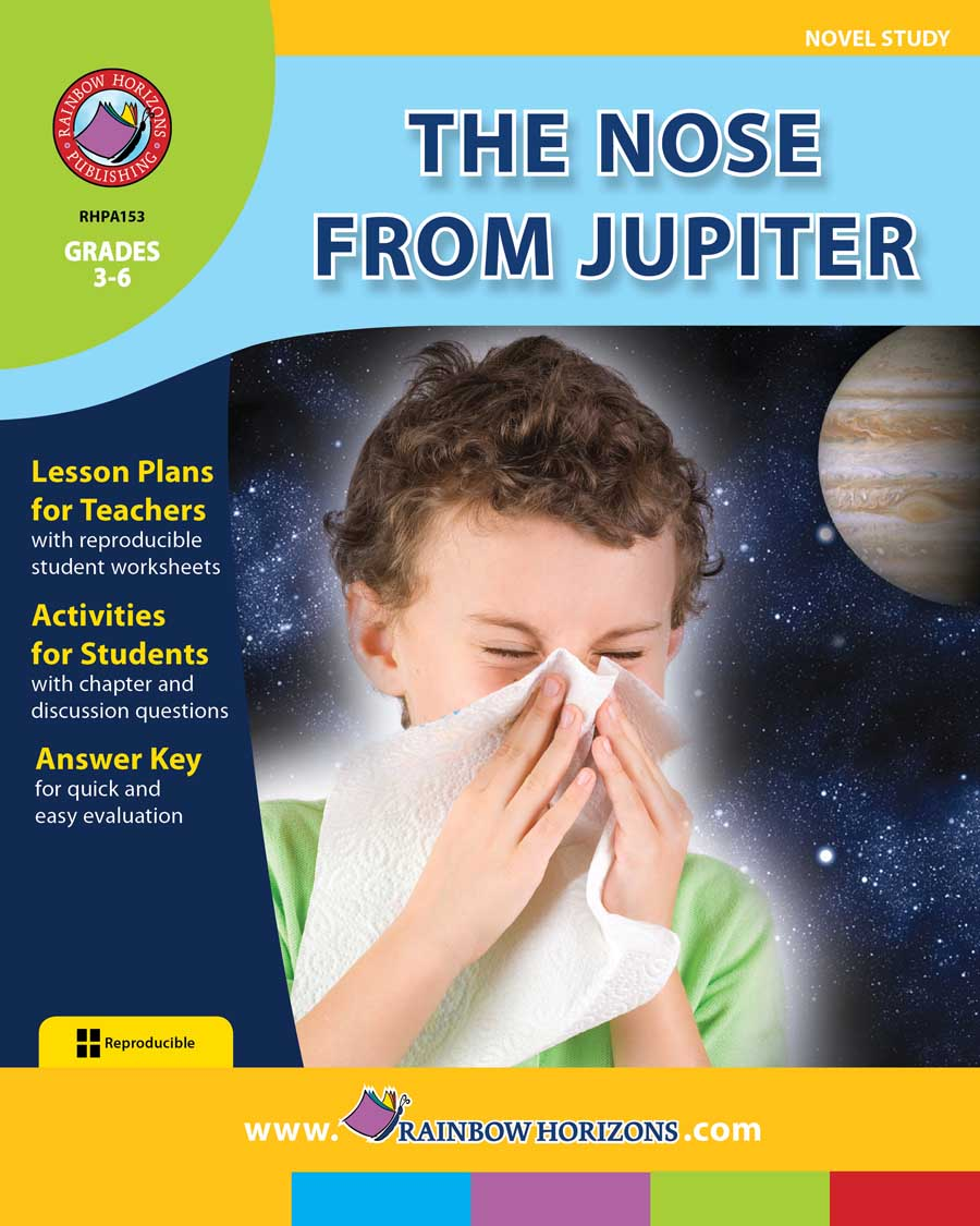 hight resolution of The Nose From Jupiter (Novel Study) - Grades 3 to 6 - Print Book - Lesson  Plan - Rainbow Horizons