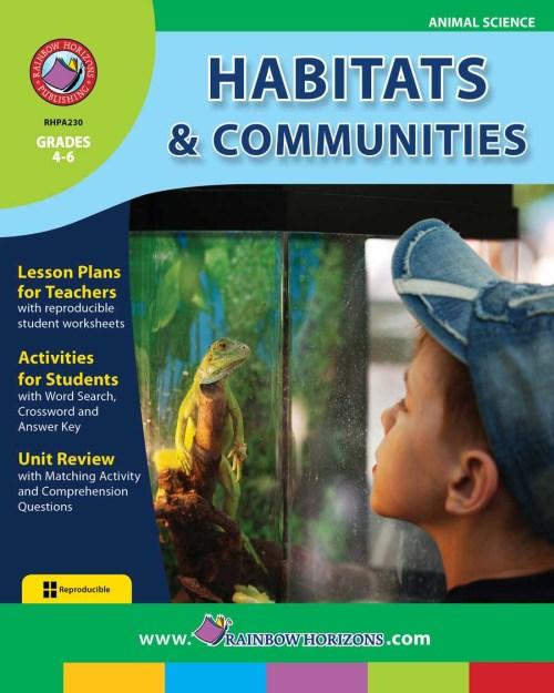 small resolution of Habitats \u0026 Communities - Grades 4 to 6 - Print Book - Lesson Plan - Rainbow  Horizons