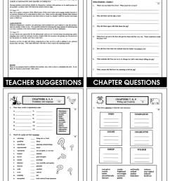 Charlotte's Web (Novel Study) - Grades 3 to 4 - Print Book - Lesson Plan -  Rainbow Horizons [ 1165 x 900 Pixel ]