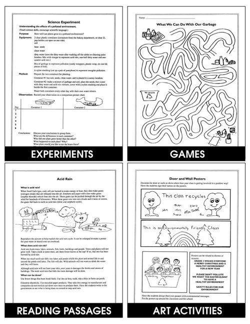 small resolution of HELPING OUR ENVIRONMENT - Grades 3 to 6 - eBook - Lesson Plan - Rainbow  Horizons