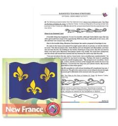 New France: Enrichment Activity - WORKSHEET - Grades 7 to 8 - eBook -  Worksheet - Rainbow Horizons [ 900 x 900 Pixel ]