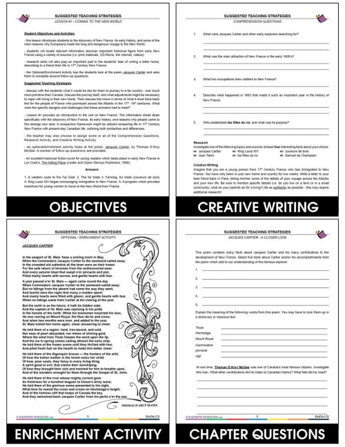 small resolution of Grade 7 History New France Worksheets - The Best Picture History
