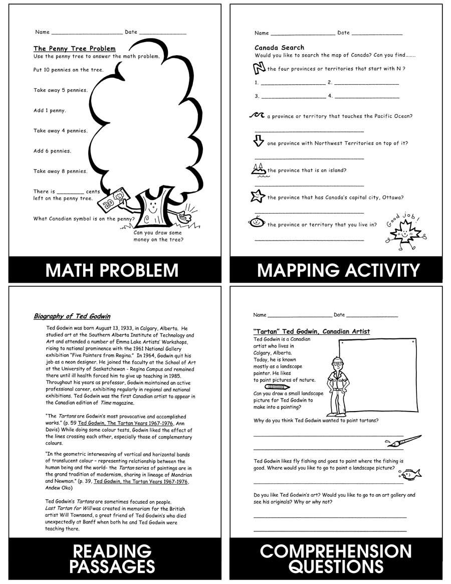 hight resolution of Kids Love Canada: Symbols \u0026 Communities - Grades K to 2 - eBook - Lesson  Plan - Rainbow Horizons