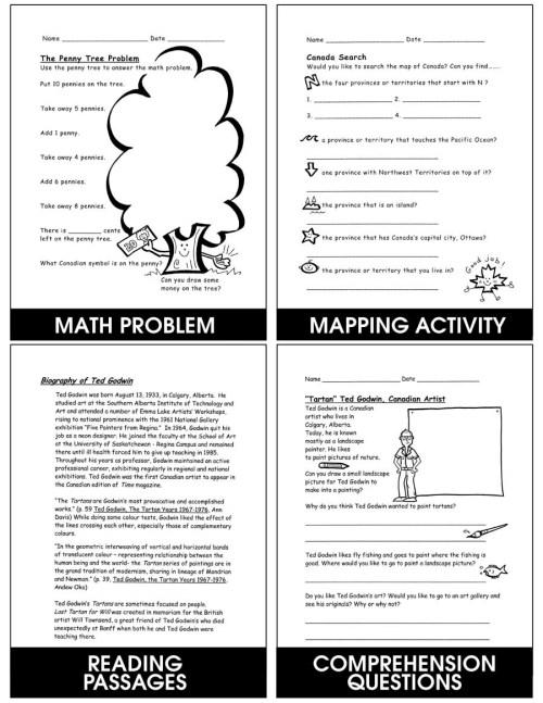 small resolution of Kids Love Canada: Symbols \u0026 Communities - Grades K to 2 - eBook - Lesson  Plan - Rainbow Horizons