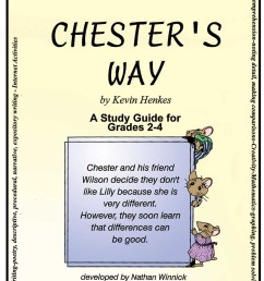 CHESTER'S WAY - STUDY GUIDE - Grades 2 to 4 - eBook - Lesson Plan - Rainbow  Horizons [ 1273 x 900 Pixel ]