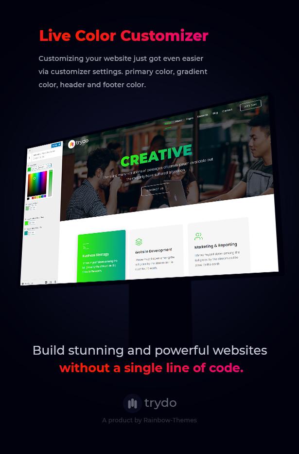 Trydo - Creative Agency & Portfolio WordPress Theme - 12