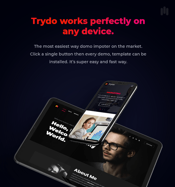 Trydo - Creative Agency & Portfolio WordPress Theme - 10